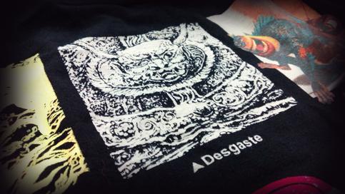 Impresión de camisetas Desgaste