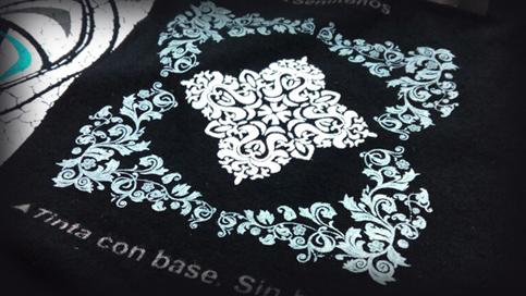 Impresión de camisetas Tinta con base