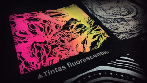 Impresión de camisetas colores flúor